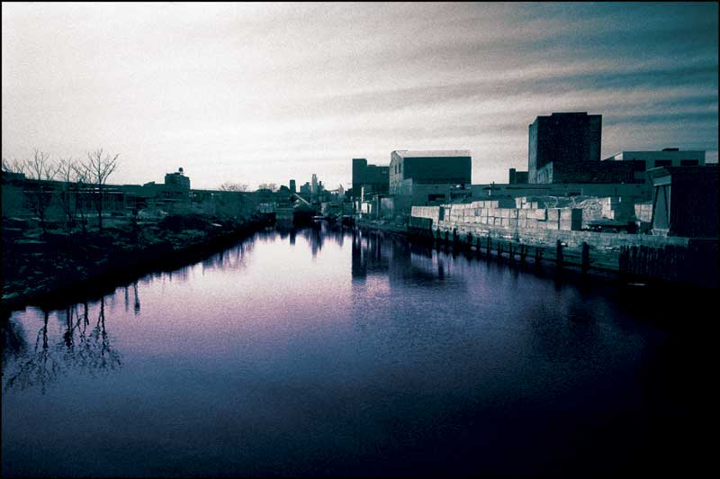 Gowanus Canal near the Whole Foods in Brooklyn