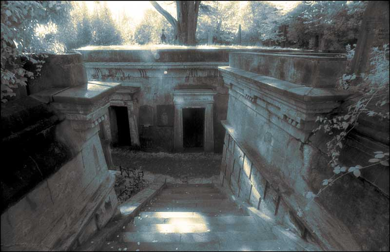 Egyptian Avenue, Highgate Cemetery, London