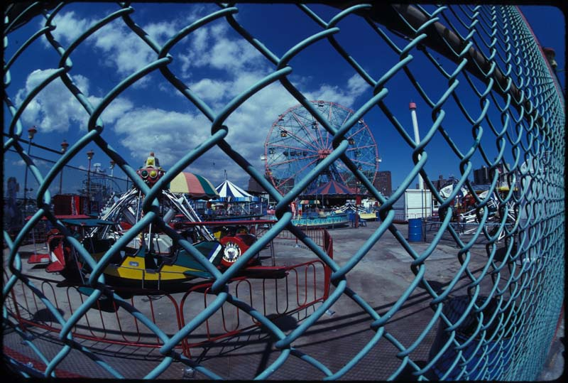 Coney Island Fence